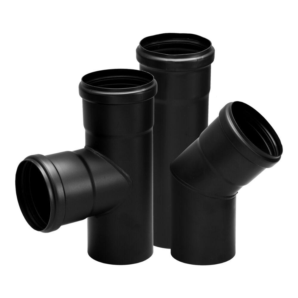 Canne fumarie: vendita tubi e raccordi per canna fumaria